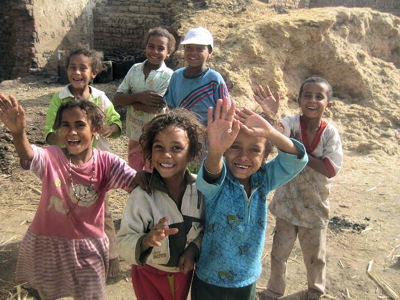 Children in Haja Marise
