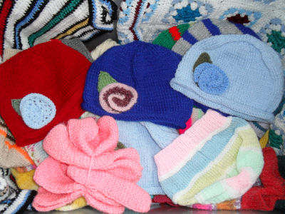 Knitted clothes for the children