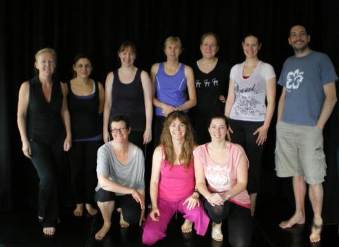 Claire Murphy's Yoga Group
